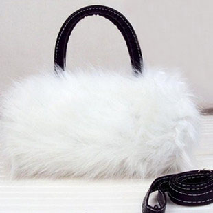 Artificial Furry Handbag