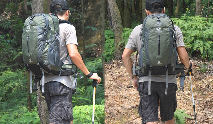 Multifunctional Pentagram Backpack 35L Outdoor Cycling Camping ...