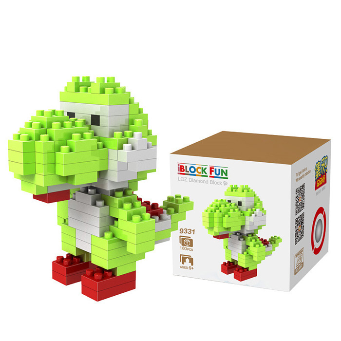 LOZ 130Pcs Super Mario Yoshi Building Block Educational Kid Toy M - 9331