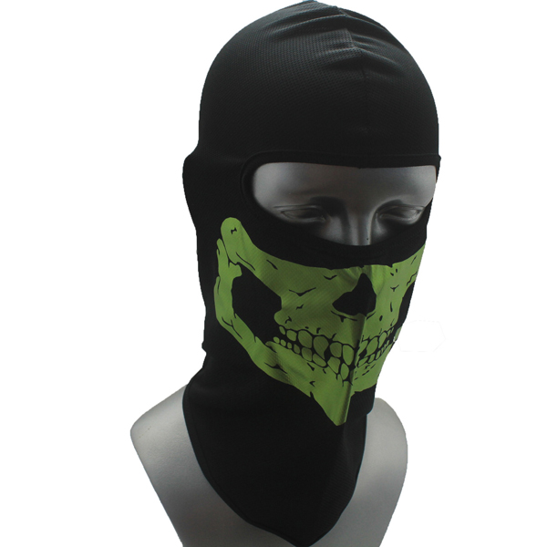 Outdoor Camping Hiking Skull Pattern Cycling Dustproof Mask