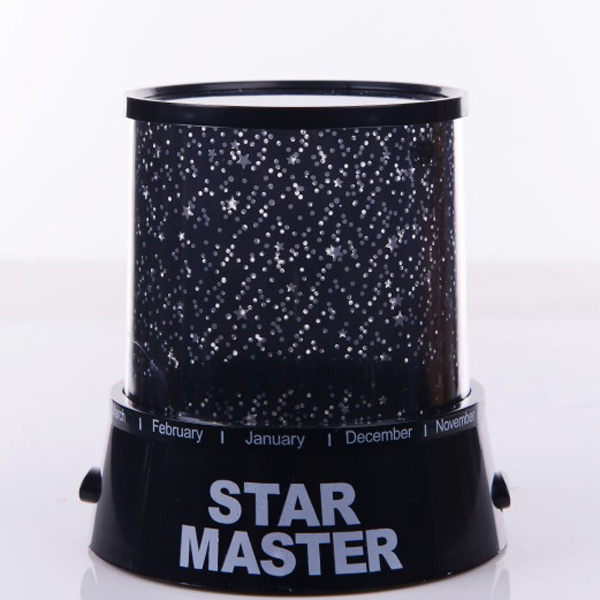 Stylish Super Bright LED Multicolor Starry Star Master Gift Projector