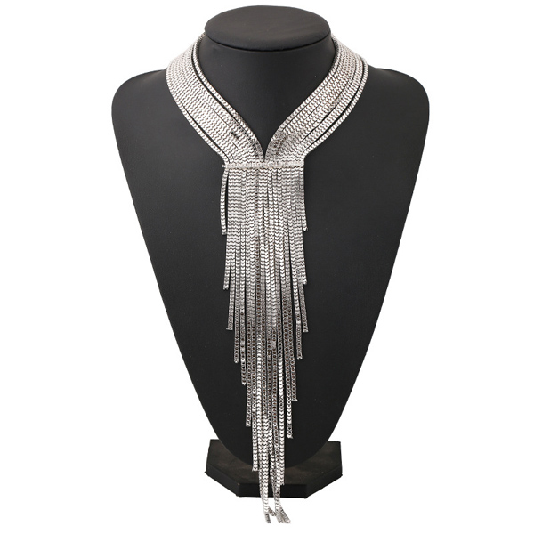 Punk Style Multilayered Alloy Necklace