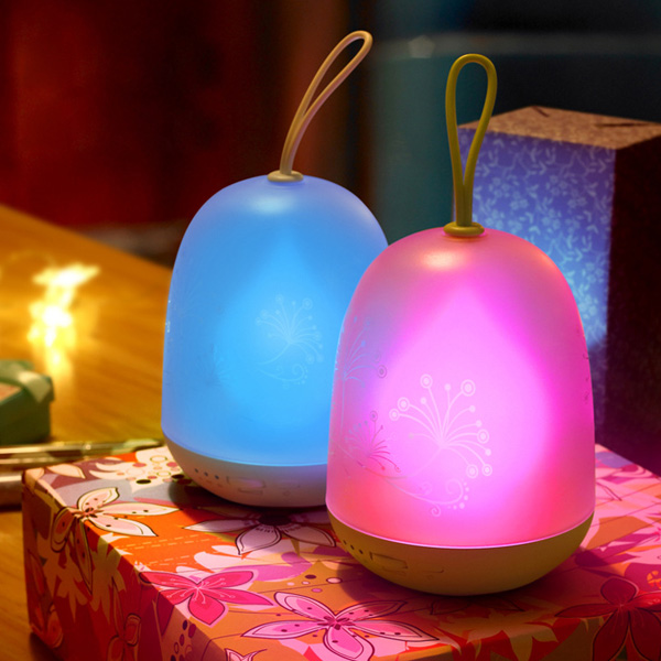 Chic LED Color Change USB Charging Portable Night Light