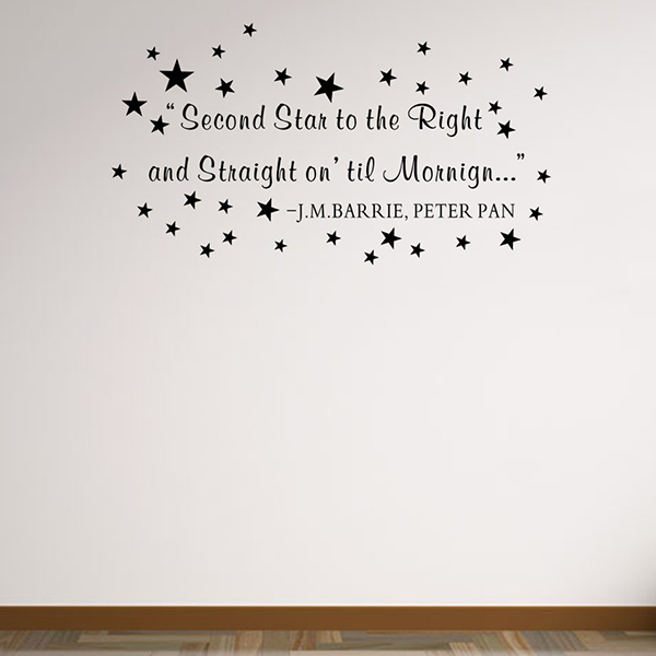 Removable Waterproof Children Room Stars Wall Stickers