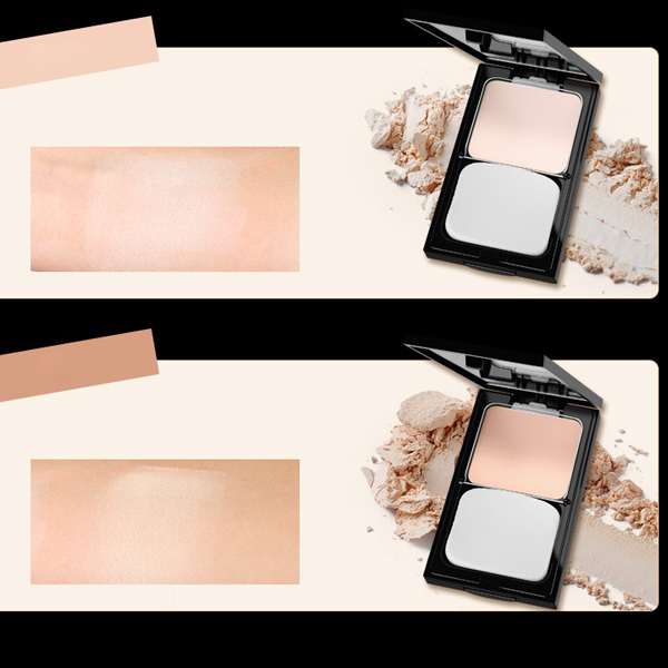 Two Tone Finish Pressed Powder Palette Kit
