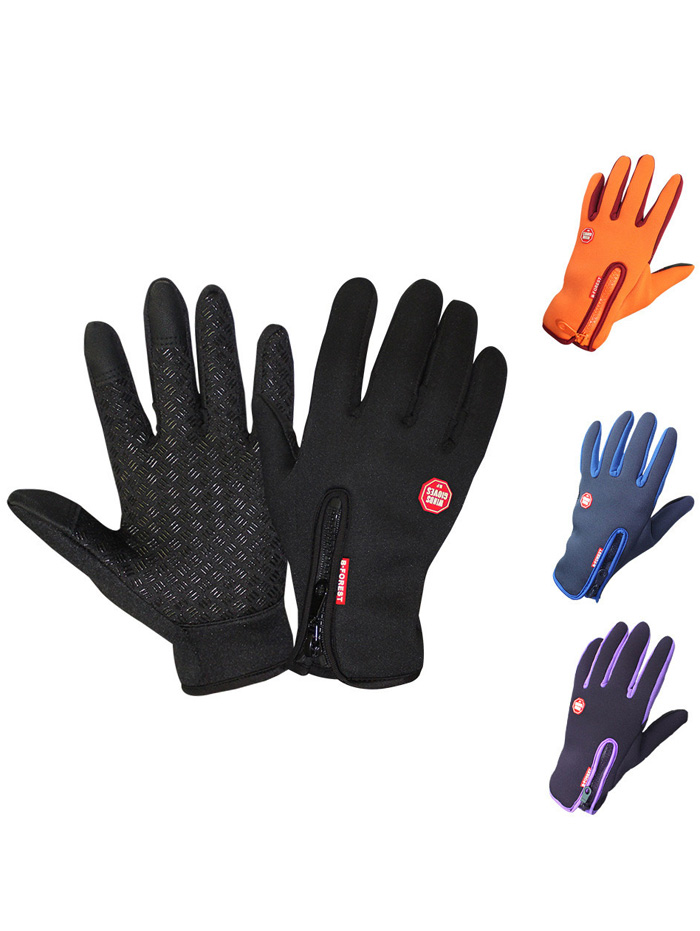 Full Finger Touch Screen Skidproof Cycling Gloves