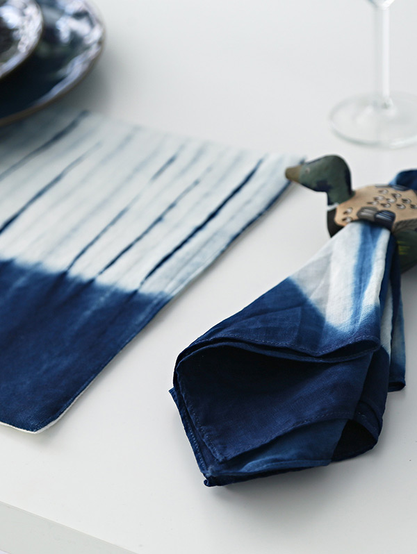 Six Point étoile Dyed Placemat