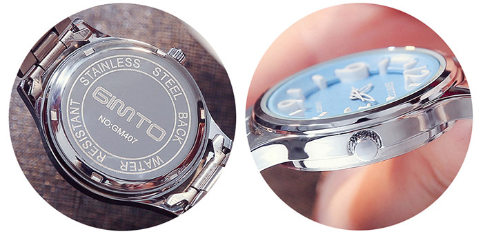 Alloy Strap Quartz Watch