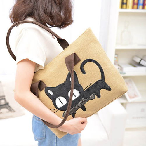 Canvas Animal Print Handbags