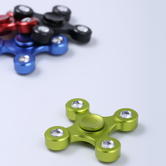 High Speed ​​Alloy EDC Fidget Spinner Focus Toy