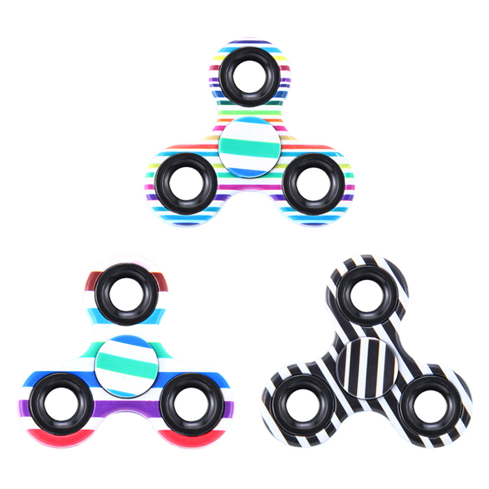 Fiddle Toy Triangle Stried Fidget Spinner