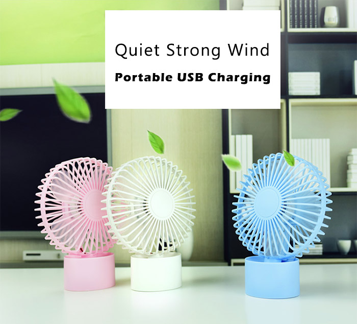 Mini ventilateur portable miniature rechargeable