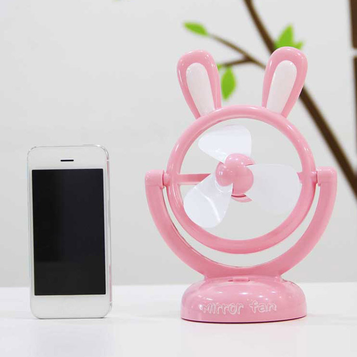 Cadeau d'anniversaire Mini table portable USB Cartoon Rabbit Fan