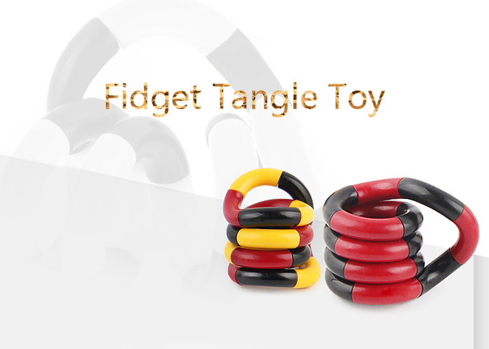 Stress Reliever Fidget Tangle Toy
