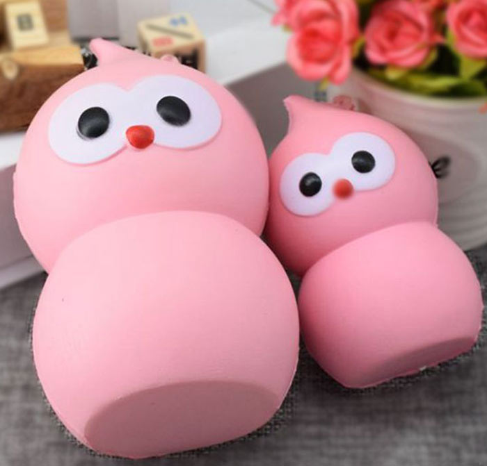 Lovely Simulation Gourd PU Slow Rising Squishy Toy