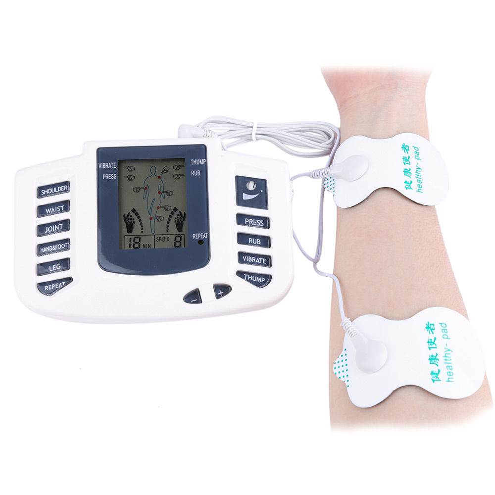 Electronic Body Slimming Pulse Massage for Muscle Relax Pain Relief Stimulator Massageador Acupuncture Therapy Machine