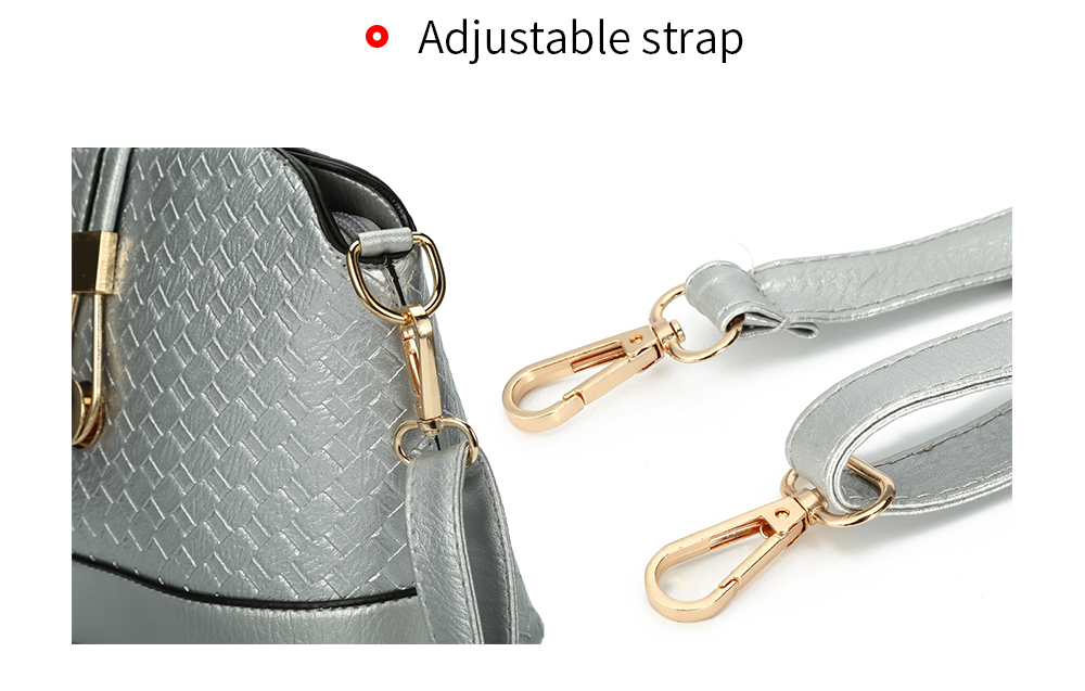 Chic Spliced Women Saddle Bag
