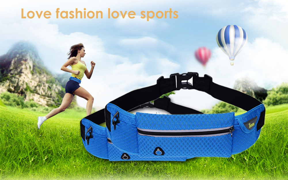 Tanluhu Fashion Outdoor Sports Mobile Phone Personal Waist Bag for Jogging Cycling