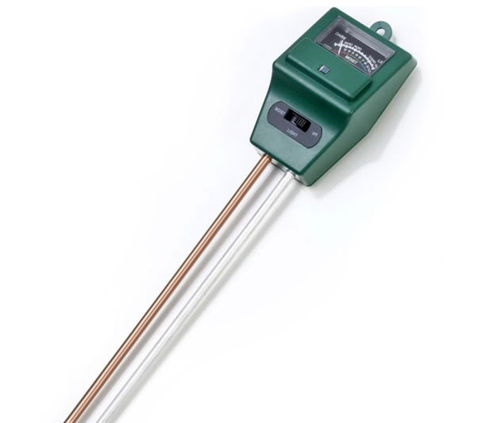 Practical 3 in 1 Soil pH Tester Humidity Meter Light Monitor High Precision