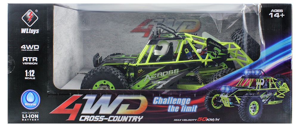 WLtoys No. 12428 1 / 12 2.4GHz High Speed 4WD Climbing RC Car