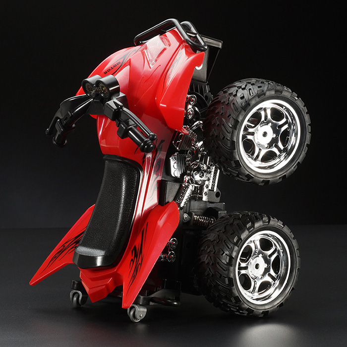 LIANGANG A6 1 : 12 2.4GHz 6 Canaux Motocycle RTR Anti-collision Réaliste