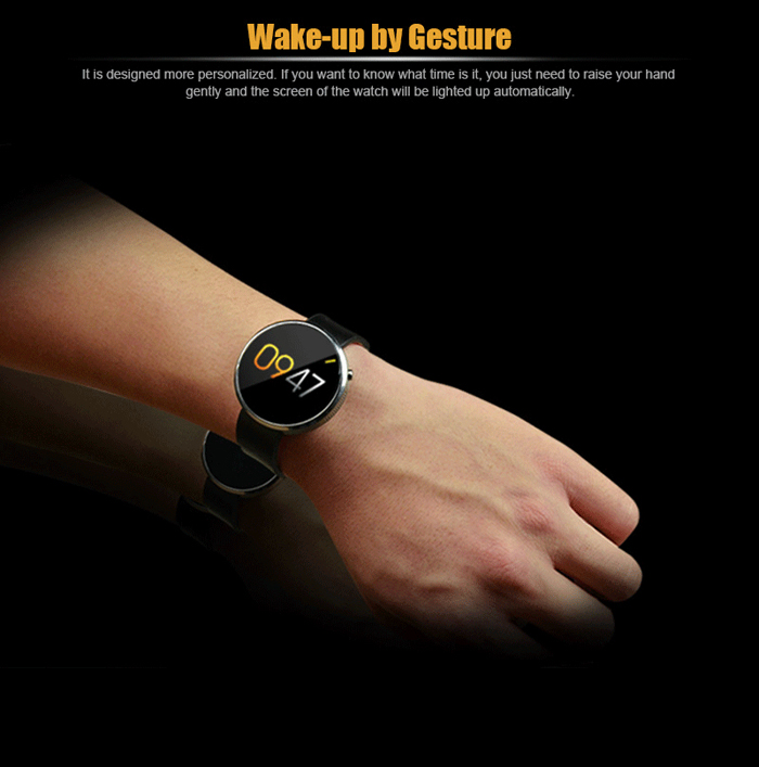 ZTE W01 Smart Watch Intelligent Page Turning Audio Recording
