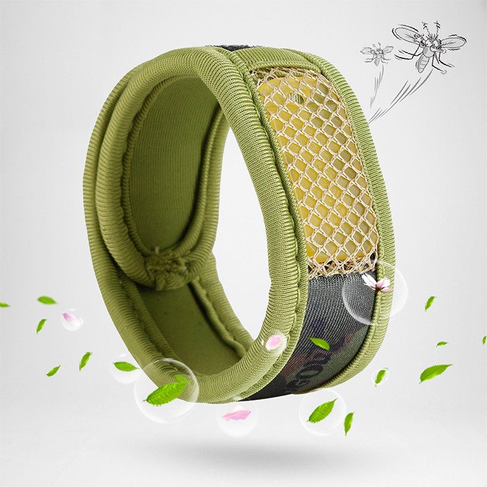 Bugout Mosquito Repellent Wristband Bracelet Fragrance naturel