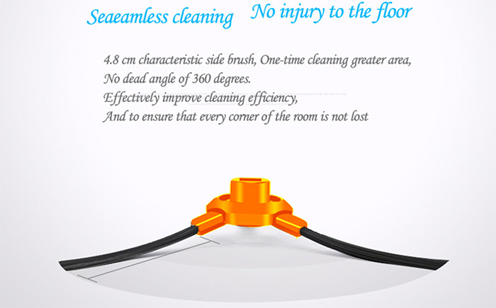 TOCOOL TC - 350 Smart Robotic Cleaner Cordless Sweeping Cleaning Machine IR Avoidance Sensor Mopping Tool