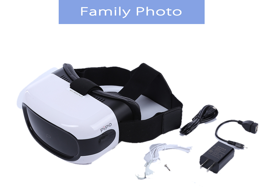 PiPo V1 VR all in One Machine Headset Android 5.1 90 Degree FOV Bluetooth WiFi