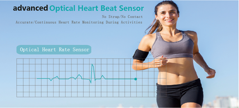 K18 Smart Bluetooth Wristband Real-time Heart Rate Test Watch