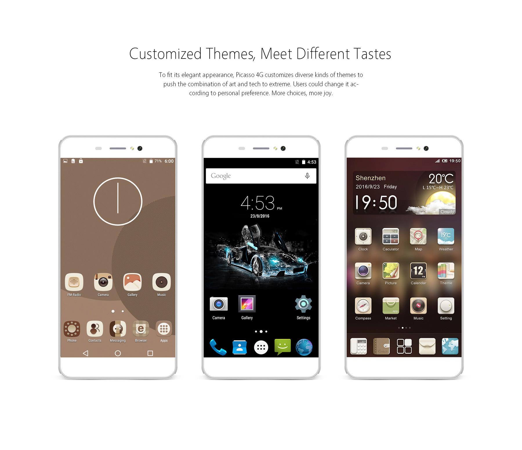 Bluboo Picasso 4G Smartphone -$83.64 Online Shopping ...