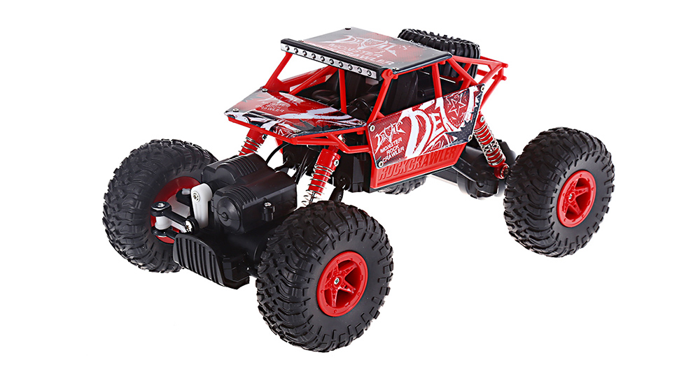 JJRC Q22 1 / 18 Scale 2.4G 4 Wheel Drive Racing Car 2.4G High Speed Model Toy