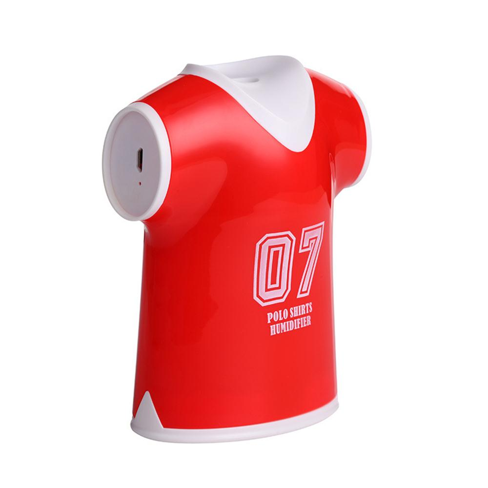 Mini usb football uniformes humidificateur chambre bureau voiture mute en rouge - Humidificateur de bureau ...