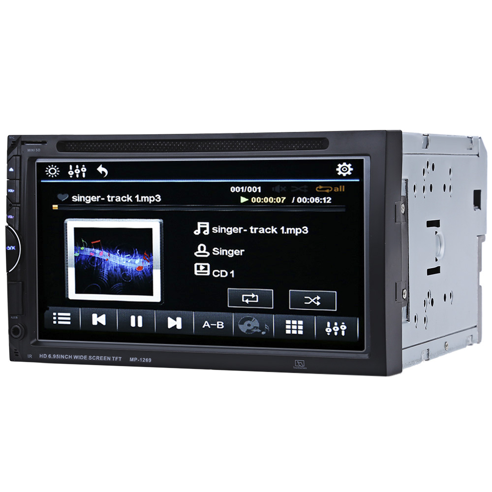 autoradio 7 bluetooth v3 0 car stereo touch screen 32gb. Black Bedroom Furniture Sets. Home Design Ideas