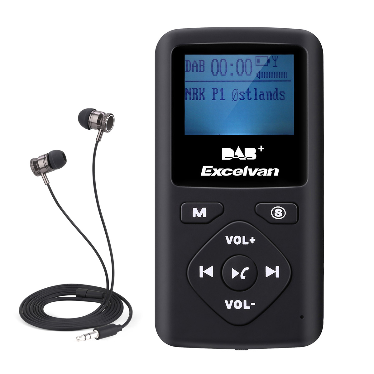 excelvan car dab dab radio receiver fm transmitter. Black Bedroom Furniture Sets. Home Design Ideas