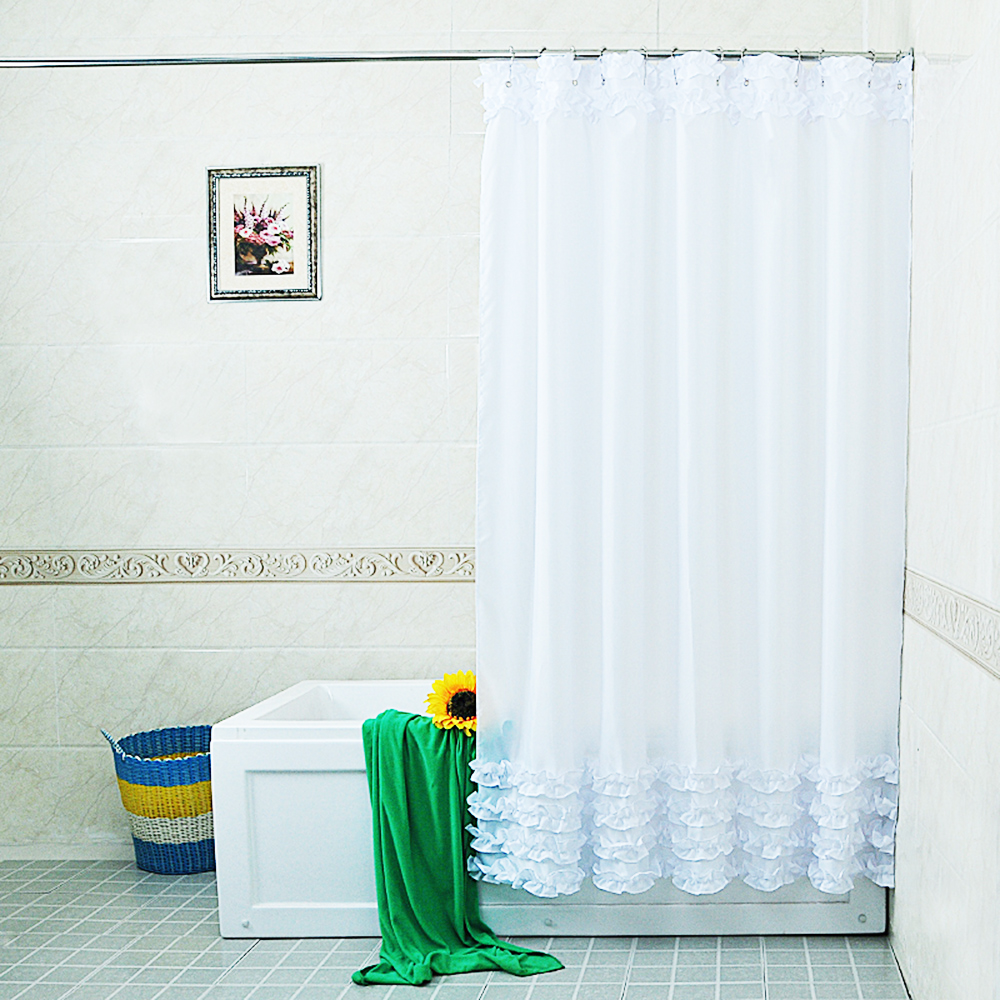 Bathroom Fabric Shower Curtain Include 12 Hooks Water Resistant Shower Curtain Ebay