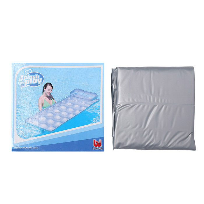 18 Holes Water Floating Row with Pillow Lounge