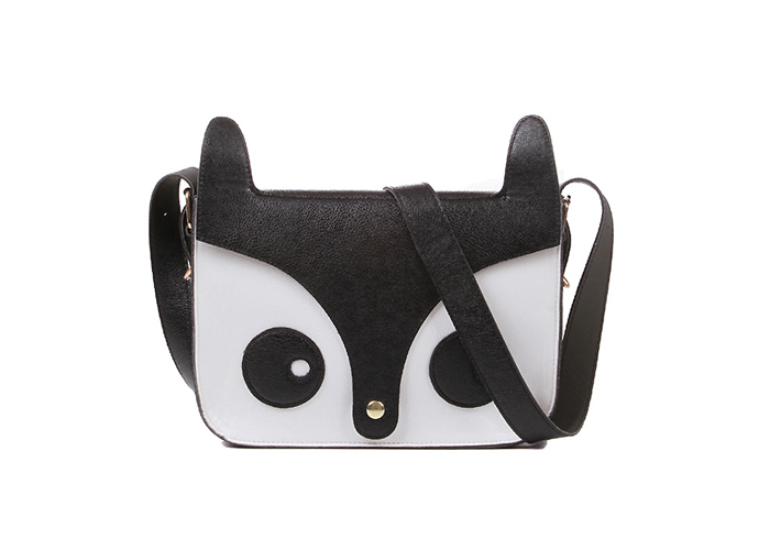 Sweet Style Cute Little Fox Pattern Design Women's Crossbody Bag