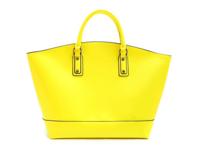 Stylish Rivets and Solid Color Design Women's Tote Bag