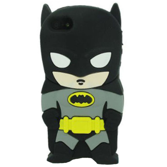 3D Cool Character Comics Batman Silicone Shockproof Protective Case for iPhone 6 / 6S