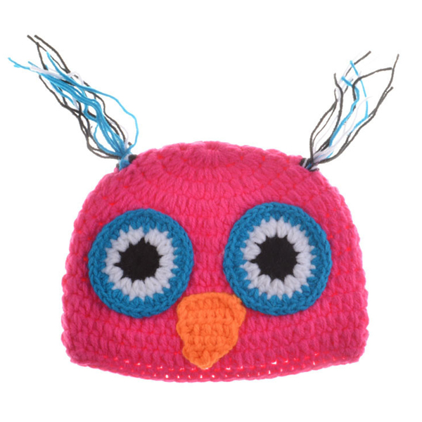 Chic Quality Newborn Wool Knitting Owl Design Baby Costume Hat + Shorts Costumes