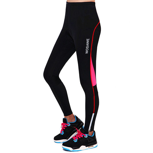 Fashionable Outdoor Sports Tight Cycling Padded Pants For ...