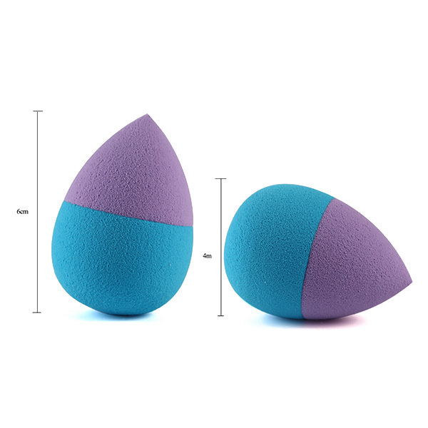 Water Drop Shape Dual-Use Dry and Wet Makeup Sponge
