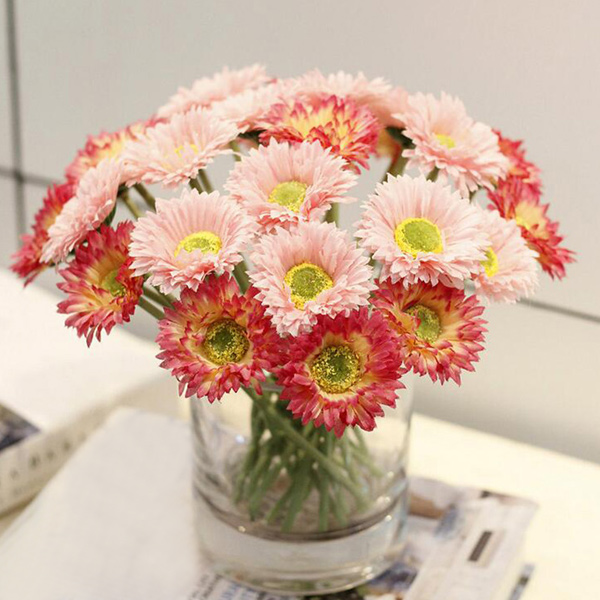 Home Decor 1 Bunch of Fake Daisy Artificial Flowers