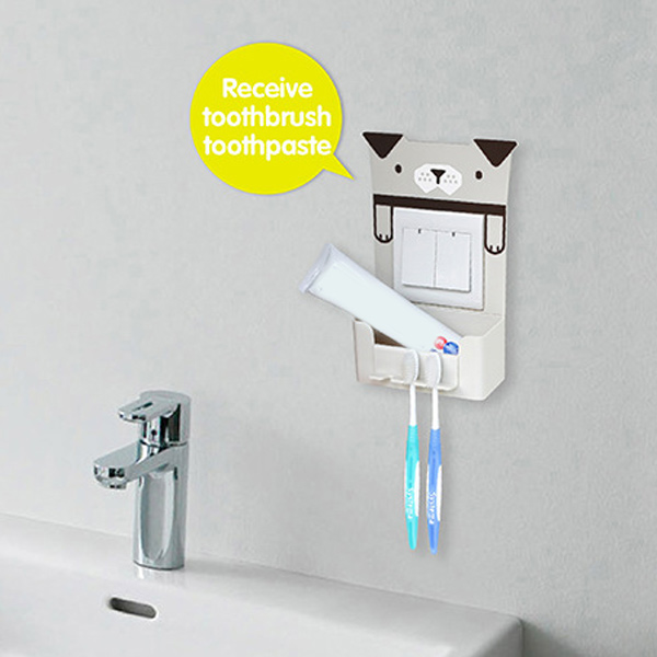 Titulaire Creative Pattern Toothbrush Multipurpose Cartoon animaux