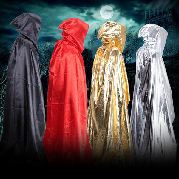 Halloween Cosplay Death Hooded Cloak Costume