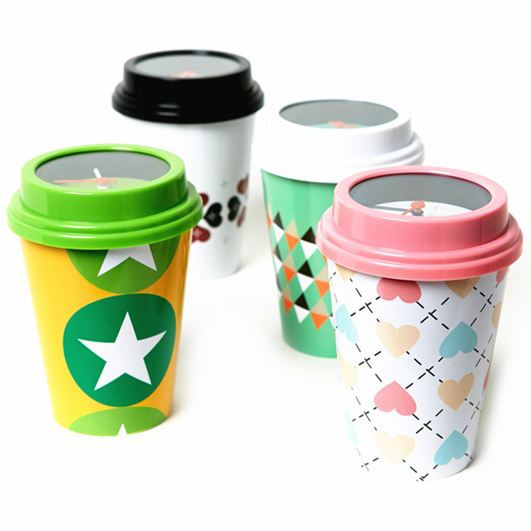 Home Decoration Environmental Mug Shape Table Alarm Clock