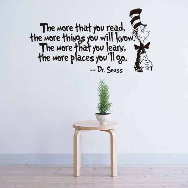 The More English Proverb Removable Room Decor Wall Stickers