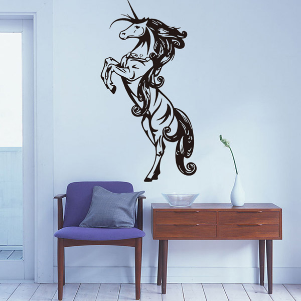 Horse Animals Removable Living Room Decor Wall Stickers