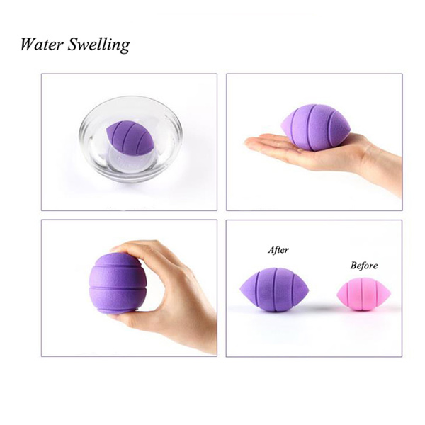 3 Pcs Water Swelling Makeup Sponge